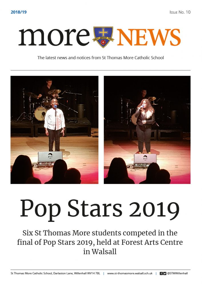 More News 2018/19 - Issue 10