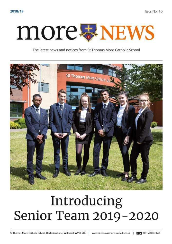 More News 2018/19 - Issue 16