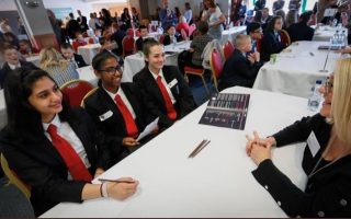 Careers speed network event