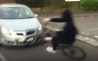 Bikeability: Road safety warning