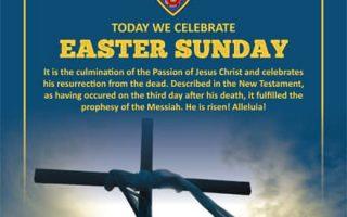 Today we celebrate Easter Sunday