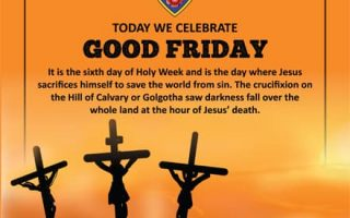 Today we celebrate Good Friday
