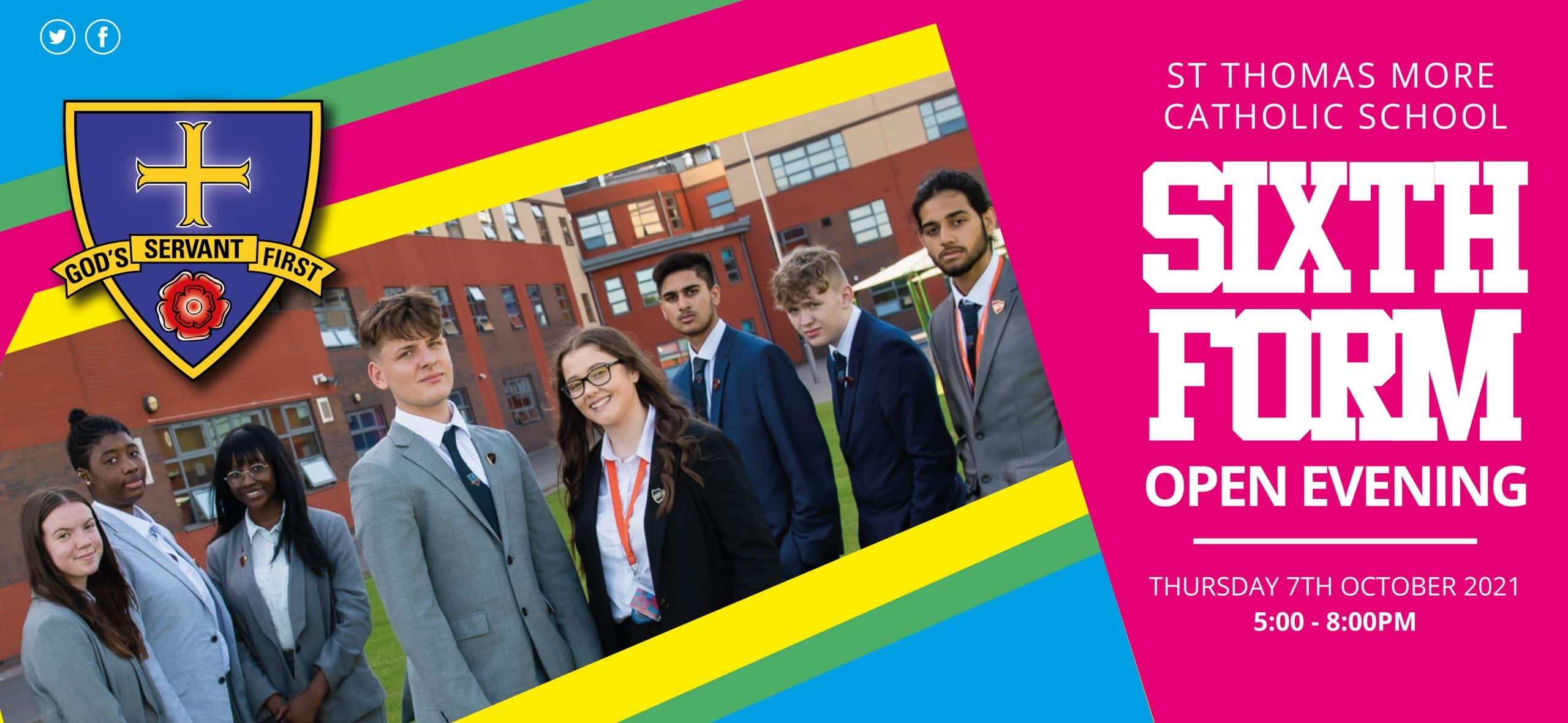 Sixth Form Open Evening - 7th October 2021