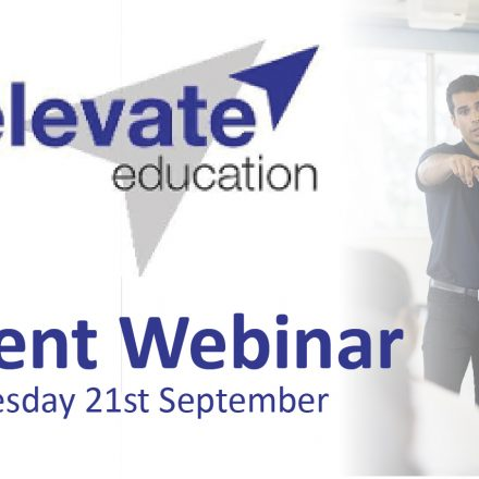 Elevate Education: Parent Webinar