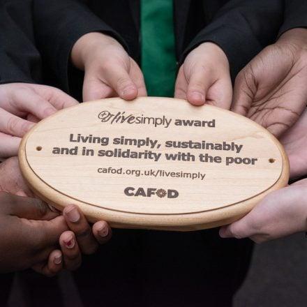 CAFOD Live Simply Award